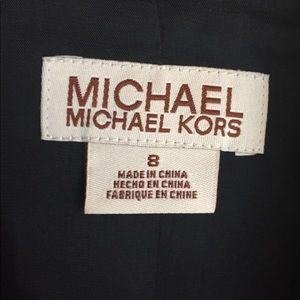 Michael Kors chalk stripe blazer